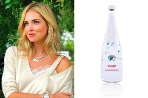 Evian Limited Edition by Chiara Ferragni